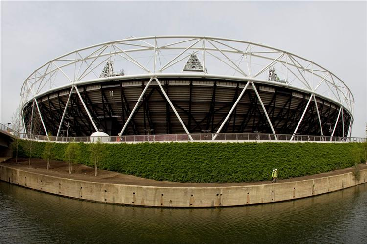 London 2012 - Green Wall Main Stadium